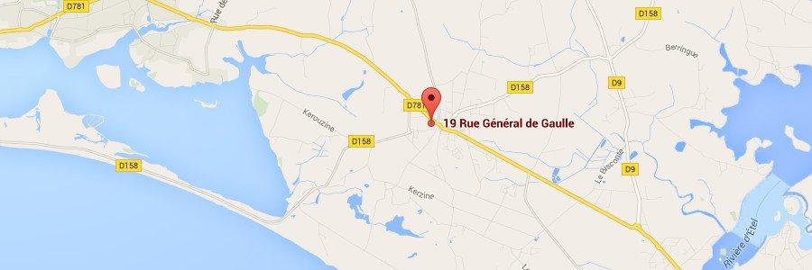 <p><span style='font-size: 14pt;'>Localisation<br /> </span></p> <p>Notre maison d'h&ocirc;tes est situ&eacute;e &agrave; &eacute;gale distance de Quiberon et de Concarneau<br /> </p> <p align='right'><a href='index.php?l_idpa=6'><span style='color: rgb(255, 255, 255); font-weight: bold;'>En savoir plus ></span></a><br /> </p><br />